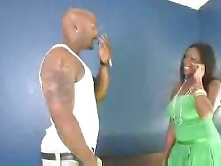 Sensual Ebony Anal - BBC
