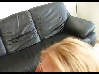Floppy titty milf gets creampie