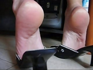 compile feet off my wife