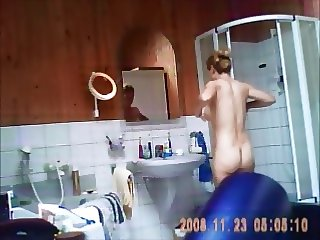 Helen in shower part 2