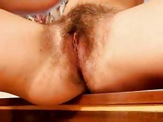 Hairy schoolgirl