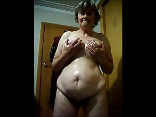 oiled slut