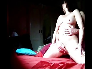 Horny Eve is having sex and comes three times