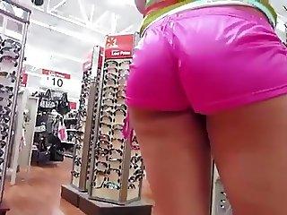 Stalking MILF Sexy ASS Upshorts - Ameman