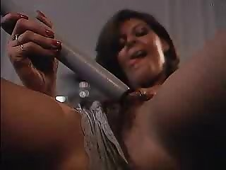 Hairy Milf Masturbates Solo on The Couch