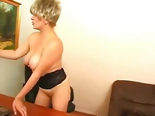 Russian MILF and guy