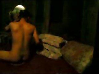 Teen Couple In Sexy Night