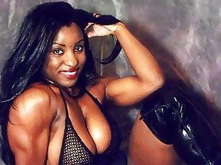 Athletic FBB Muscle Black Women (PG) - Ameman