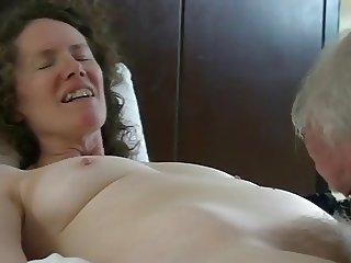 Mature sex couple