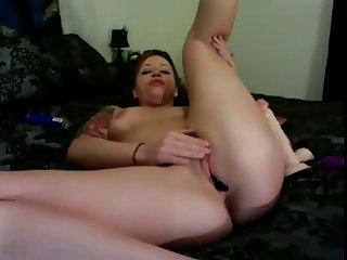 Panty stuffing Milf