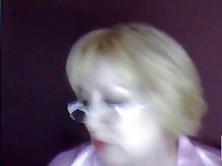 Russian 52 yo mature mom webcam