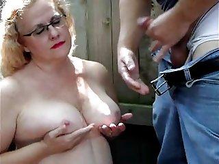 Tit Slap Cumshot (reposted)