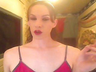 MILFY CHAINSMOKING brunette