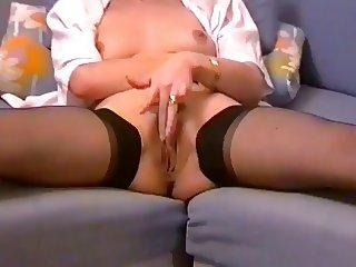 Marta Pusa,lange Nuttenbeine