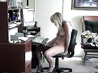 mom enjoying herself