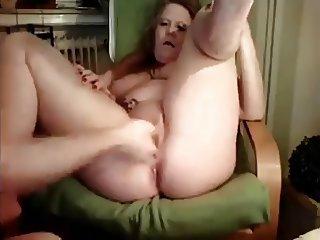 fisting German granny