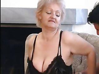AllGrannyPorn - Busty Granny Fucked