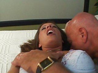 Wife fucks man strap-on