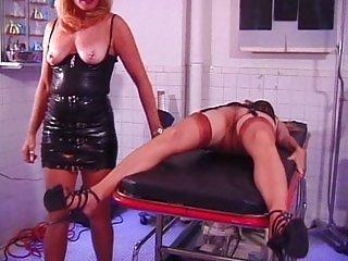 Mature puss gets tortured