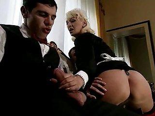 Teresa Visconti - Italian mature maid fucked