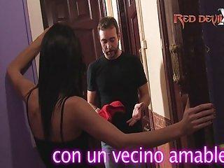 MIS VECINAS SON ACTRICES PORNO-TRIO DE VECINA