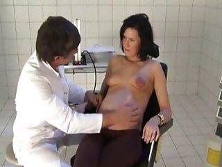 Horny German Pregnant Milf Love Cock