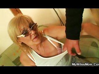 Porn-loving granny