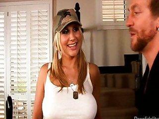 Army Girl Alanah Rae Fucks Kelly Madison