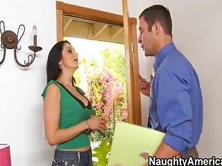 MILF fucks married guy for fun