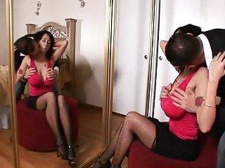 MILF Alia Janine pussy fuck