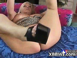 Charming Wild BBW Pervert Slut Screwed