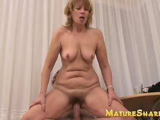 Plump amateur granny in hardcore porn