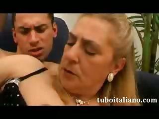Mamma Tromba Figlio Italian Amateur