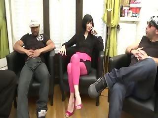 Dalinda gangbanged by 4 dudes