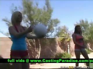Ahryan Rachel two sluts teasing guys