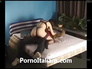Moglie italiana scopa con amante dal cazzo duro - italian porn wife fuck big dick