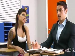 rough chick fucks in teaching