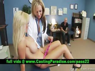 Nikki Nikki blonde lesbians having sex