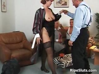 Two horny mature sluts get those wet part4