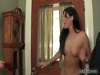 Hot brunette whore has an amazing part4