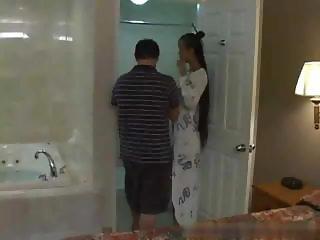 Mia Soapy Massage Handjob