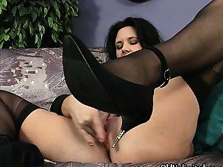 Horny mature whores go crazy rubbing