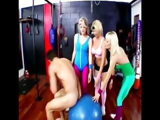 Hot gym femdom milfs  fucking trainer