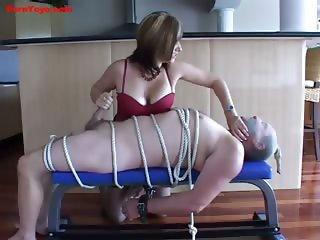 Fetish Milking his Cock.