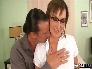 Lillian's anal surprise