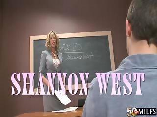 Teacher Gets A Creampie