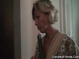 Granny demands a double team