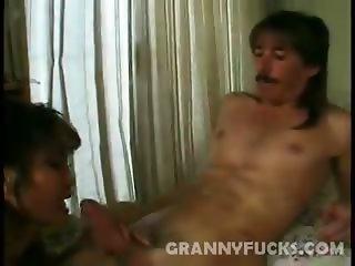 Ramming Hot Granny Rosy Rocket