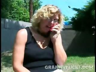 Cock Sucking Grandma