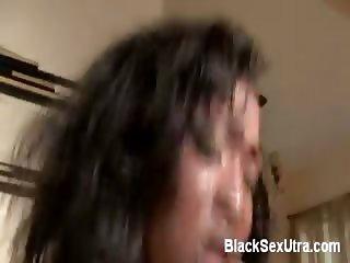 Ebony Pussy Gets Pounded